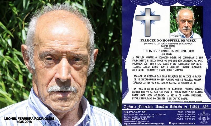 FOTO2 RIP DE  LEONEL FERREIRA RODRIGUES -83 ANOS (