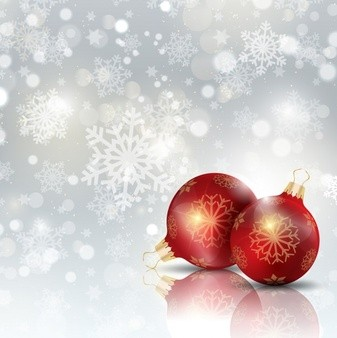 christmas-ball-on-a-snowflakes-background_1048-392