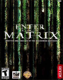 Capa de Enter the Matrix
