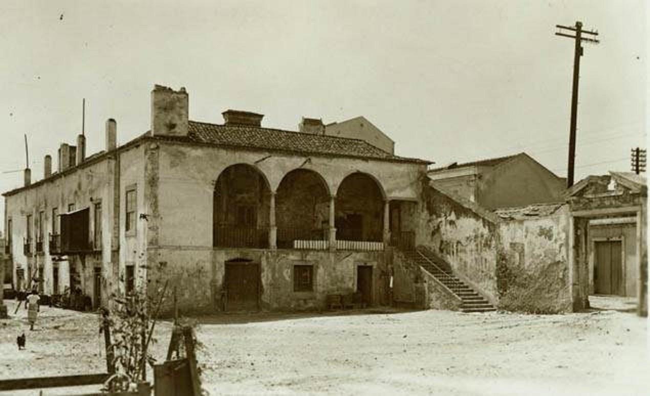 Quinta da Matinha, 1938, foto de Eduardo Portugal.