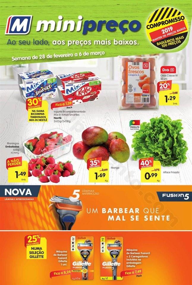 Antevisão Folheto Nacional Minipreço 28fev a 6mar
