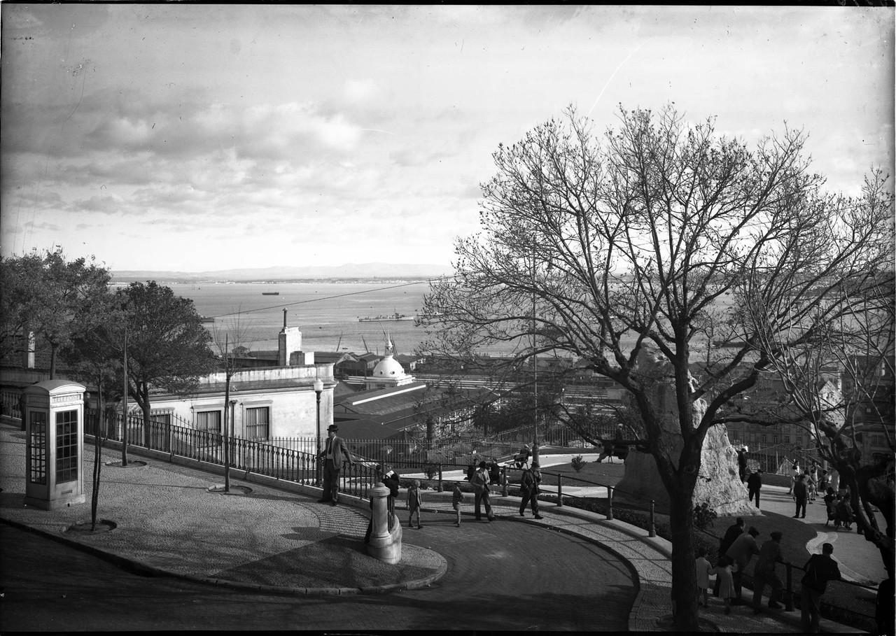 Alto de Santa Catarina, anos 40, foto de Paulo Gue