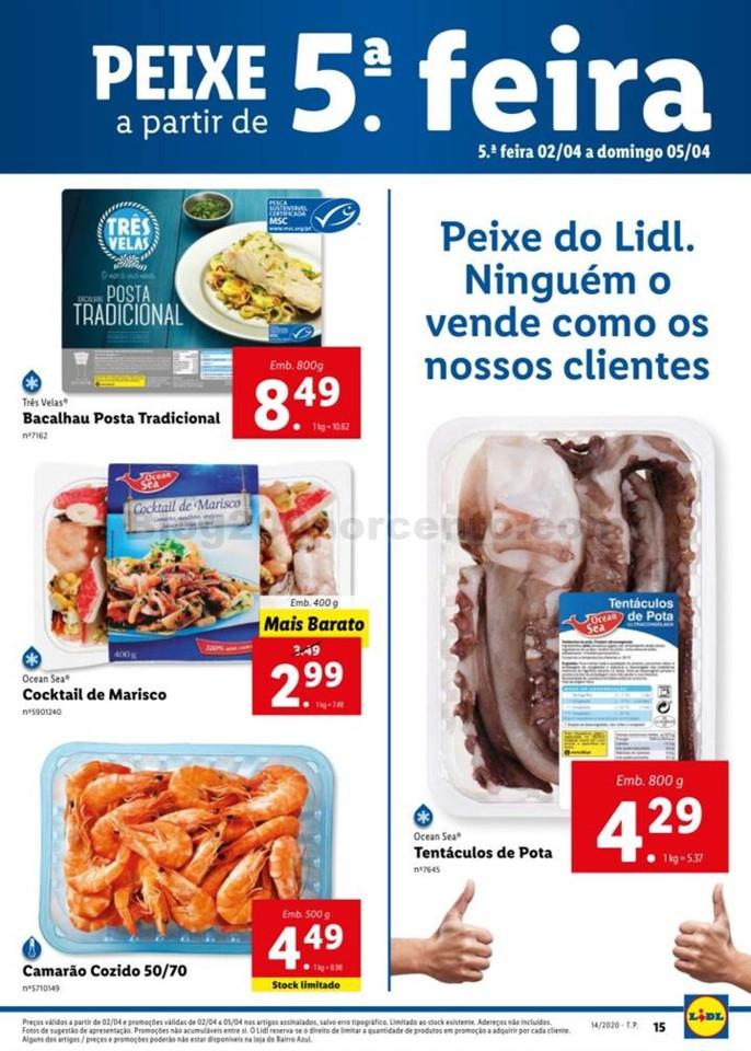 Antevisão Folheto LIDL Promoções de 30 março a