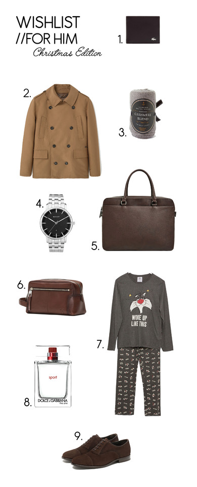 wishlist for him, christmas edition, gift list, blog, blogger, ina, xmas