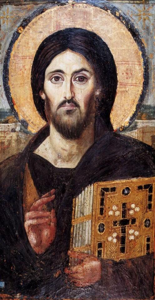 Pantokratir século VI um dos ícones mais antigo