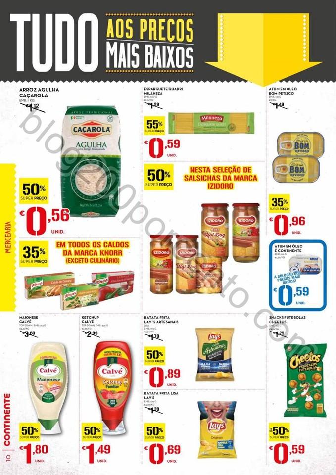 Antevisão Folheto CONTINENTE Madeira promoçãoz