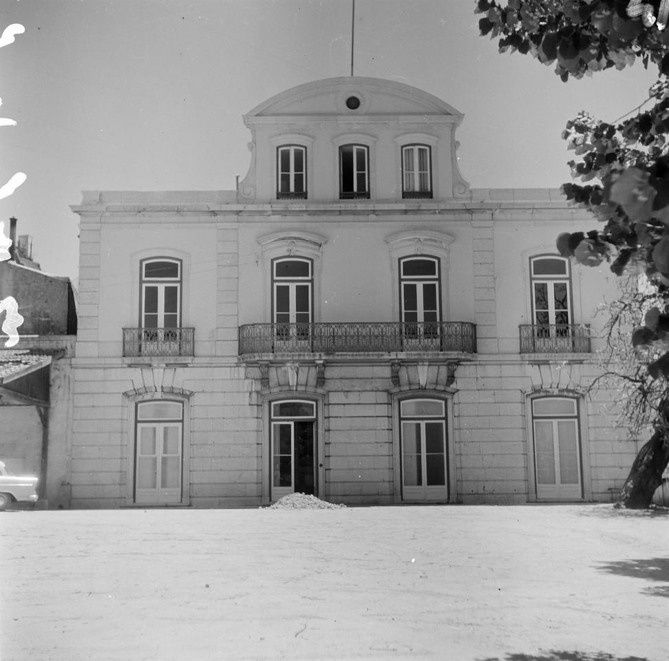 Palacete Braamcamp, 1967, foto de Vasco Gouveia de