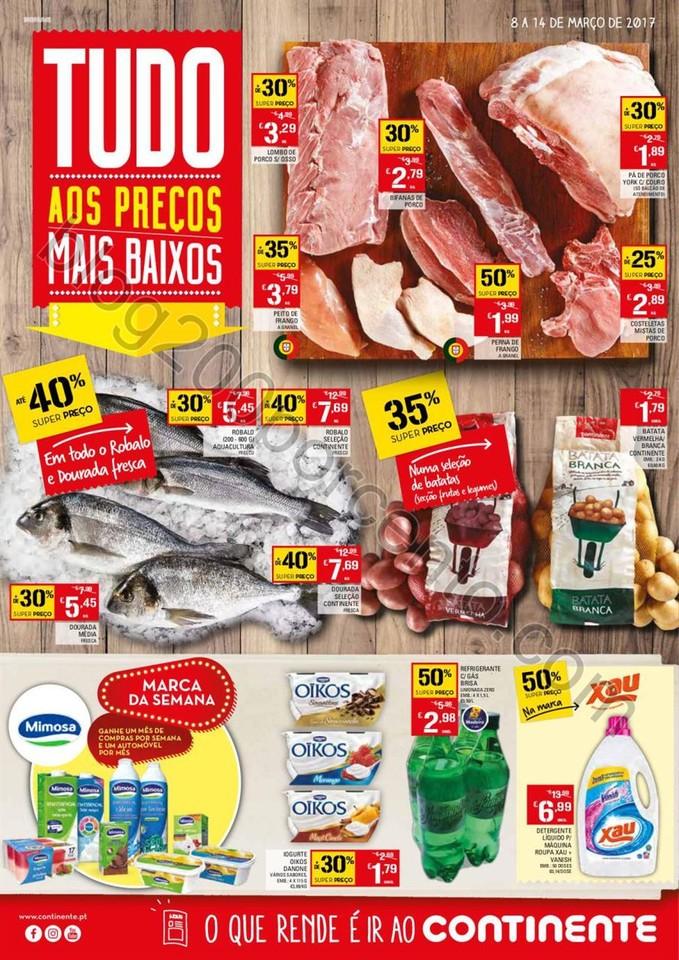 Antevisão Folheto CONTINENTEMadeira Promoções d