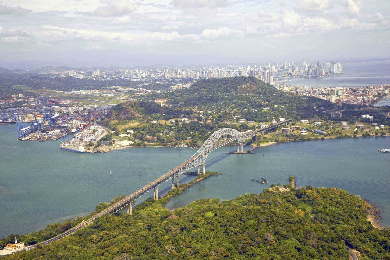 Two days sailing through The Panama Canal will be