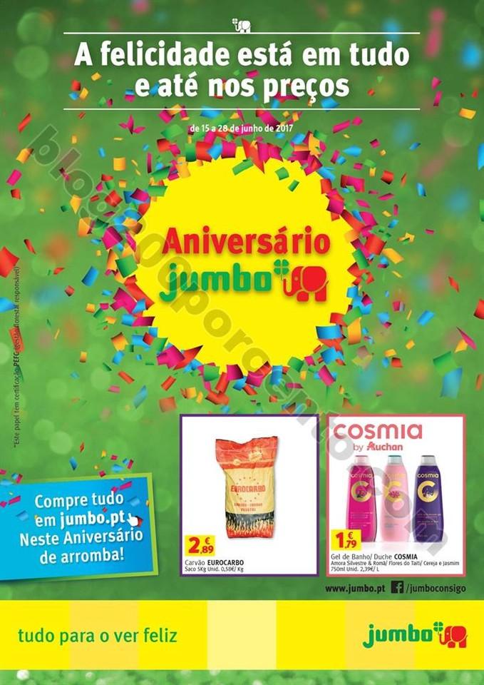 Antevisão Folheto JUMBO Promoções de 15 a 28 ju