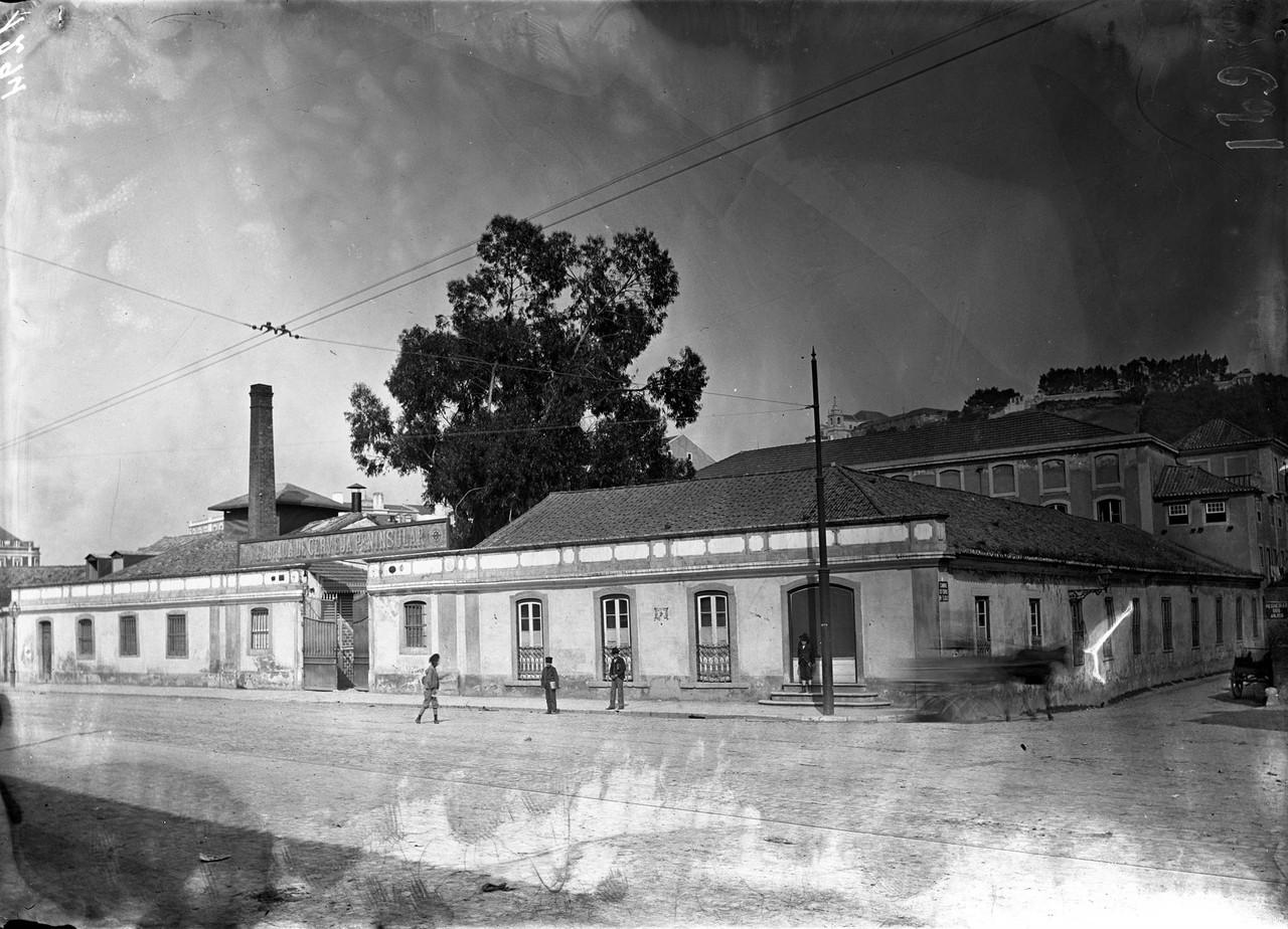 Rua de Arroios, Fábrica de Cerveja Peninsular, su