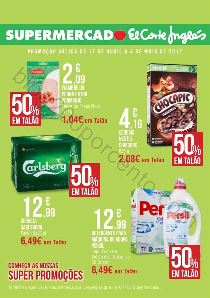Antevisão Folheto EL CORTE INGLÊS Promoções de