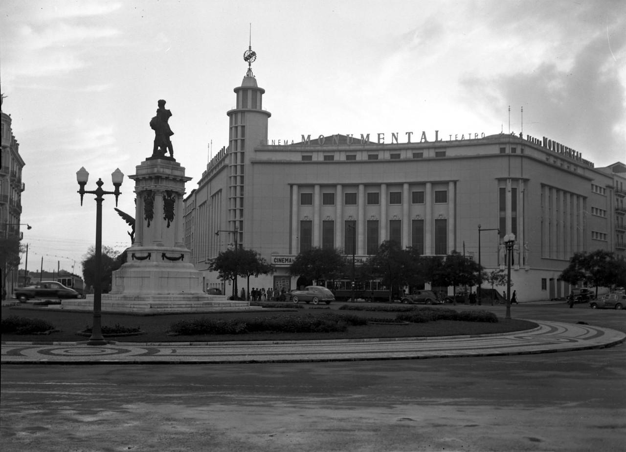 Cinema Monumental, 1952, foto de Firmino Marques d