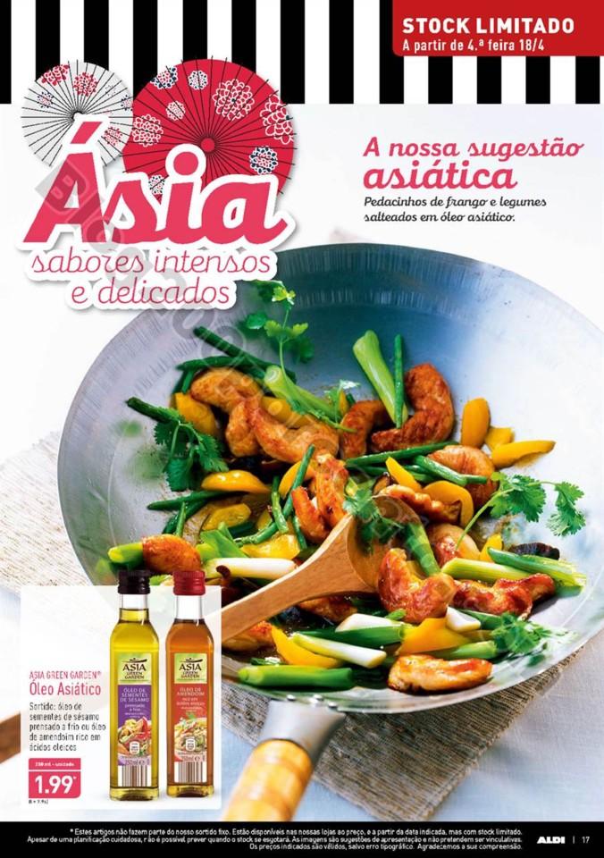 Antevisão Folheto ALDI Ásia promoções a partir