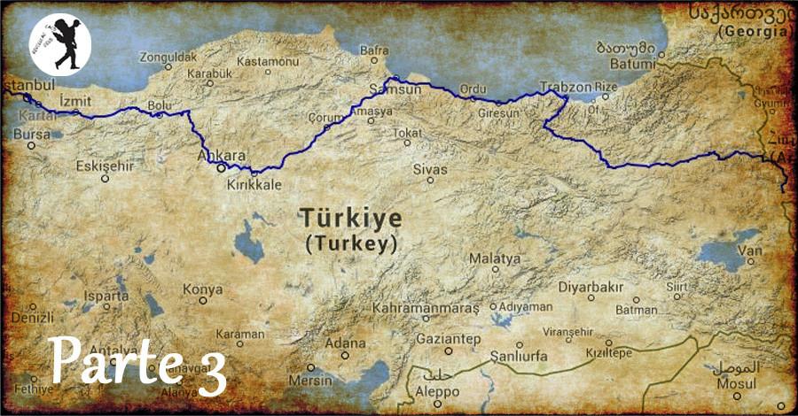 De Istambul a Doğubeyazıt em 3 dias - III