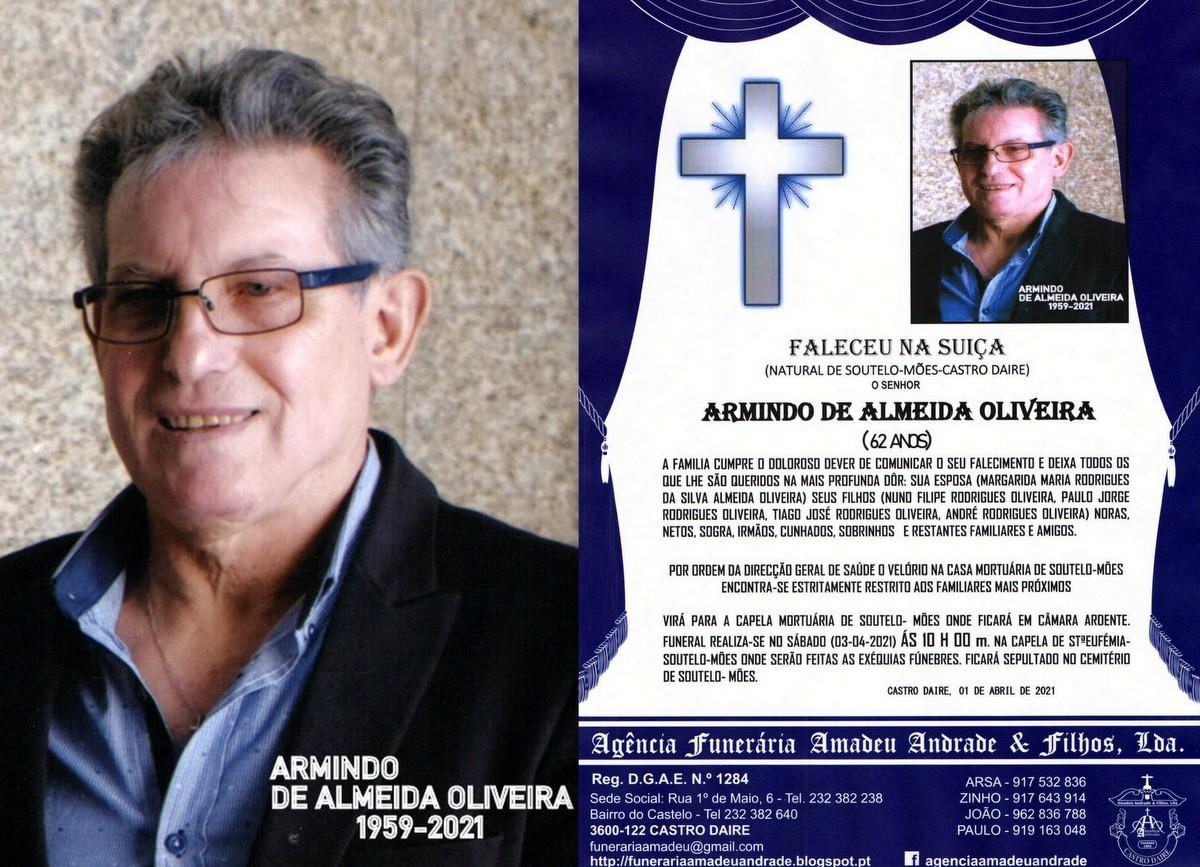 RIP- FOTO  ARMINDO ADE ALMEIDA OLIVEIRA-SOUTELO-MO