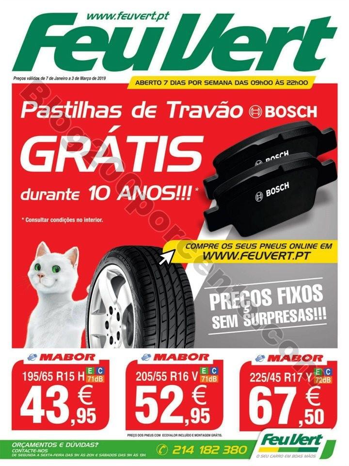 Antevisão Folheto FEU VERT Promoções de7 janeir