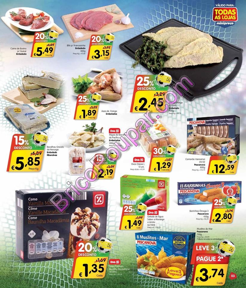 Antevisão Novo Folheto Minipreço - de 12 a 18 de junho