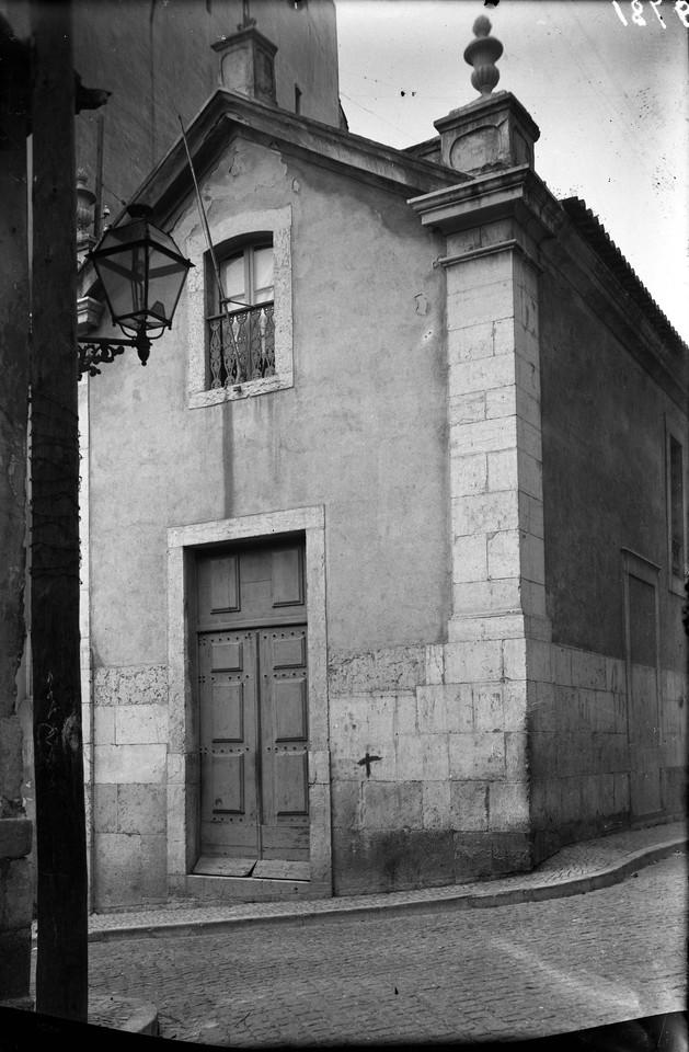 Ermida dos Fiéis de Deus, fachada principal,foto
