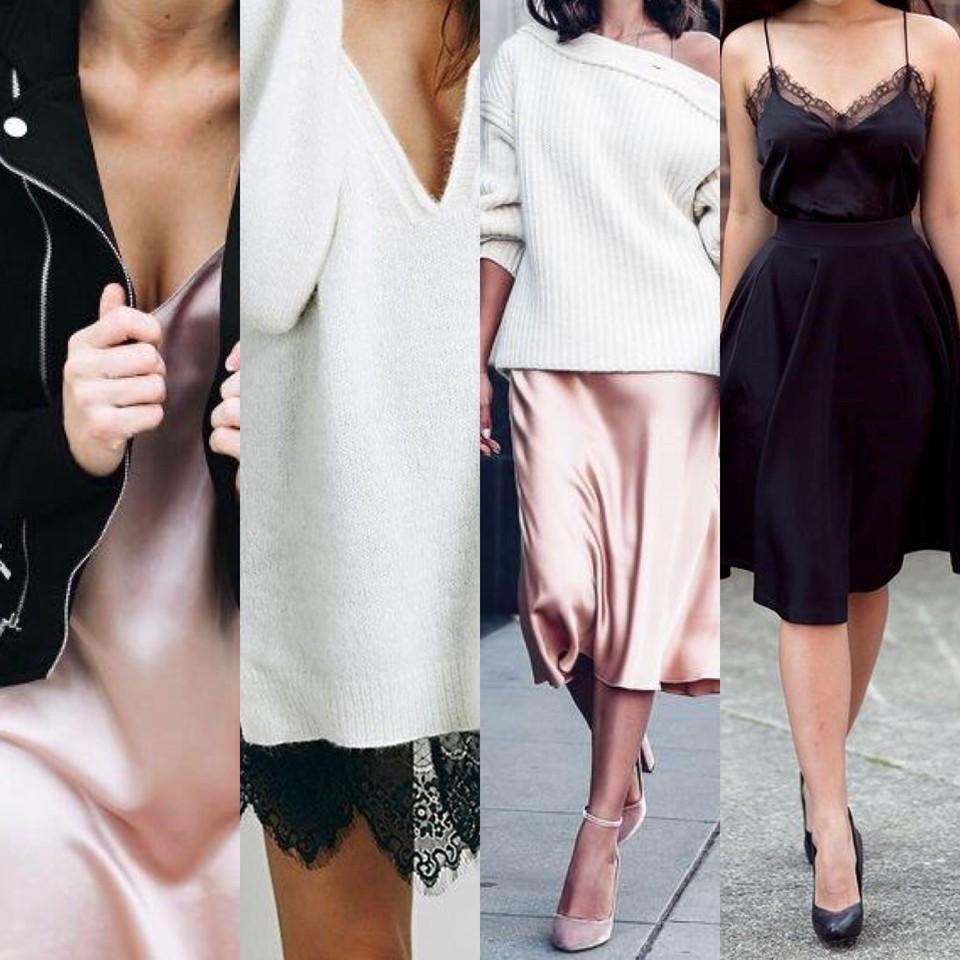 TRENDS | slip dress