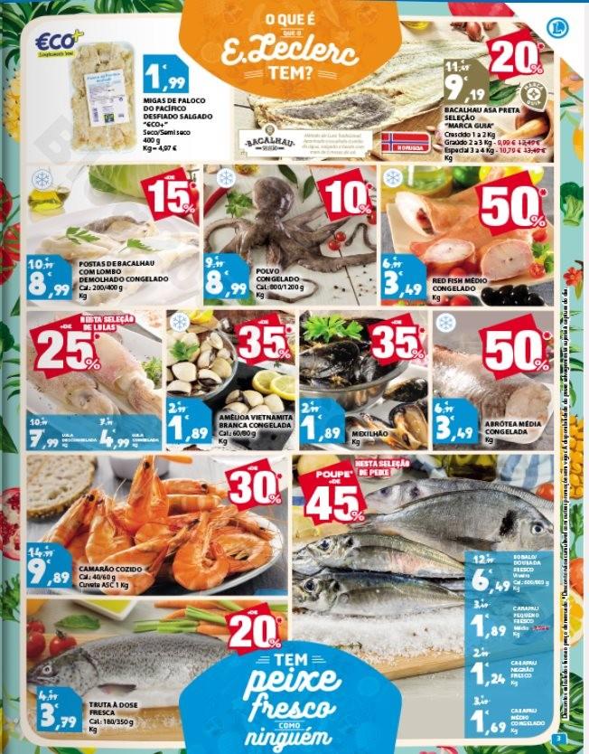 Antevisão Folheto E-LECLERC Promoções de 7 a 13