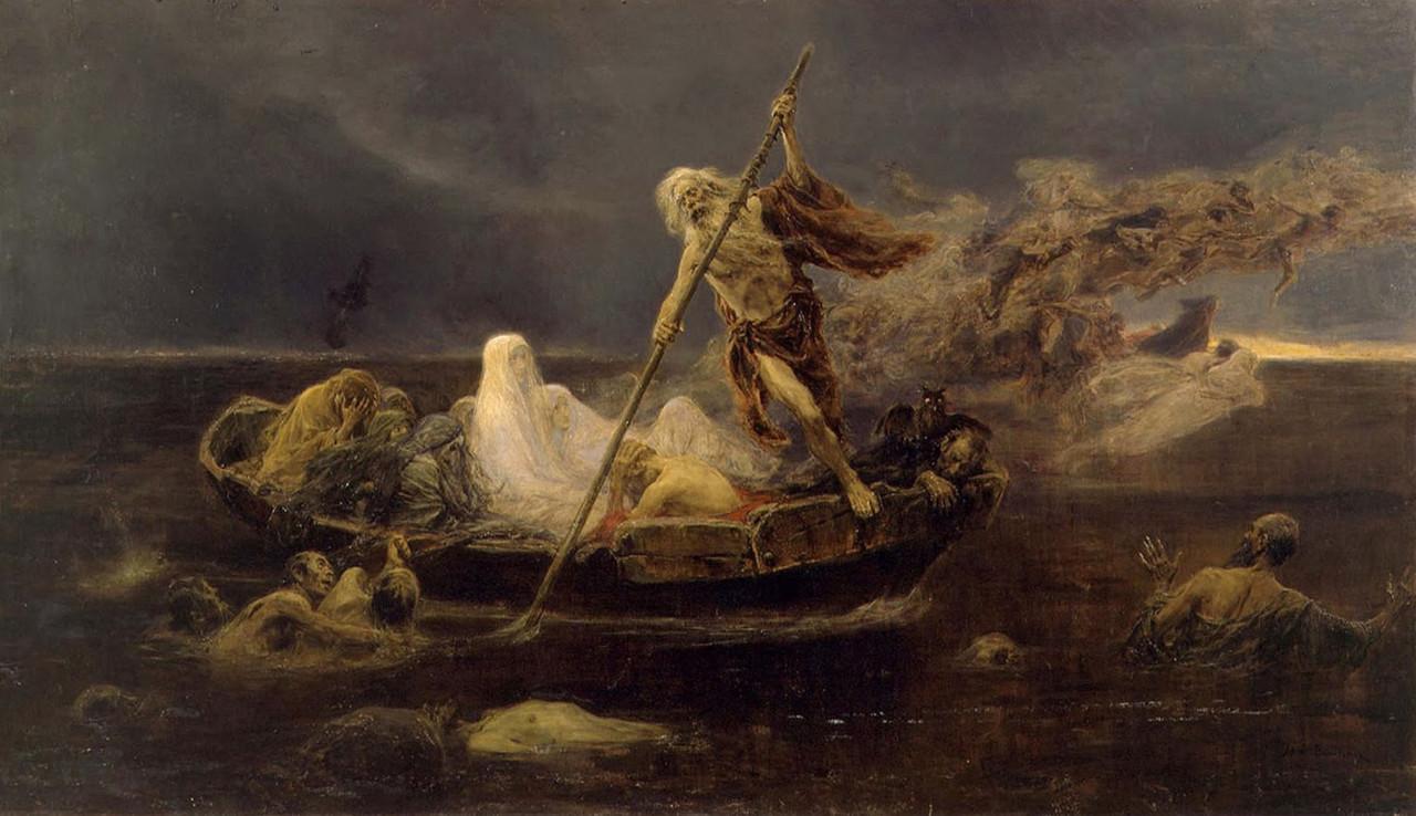 La barca de Caronte- Por Jose Benlliure Gil.jpg