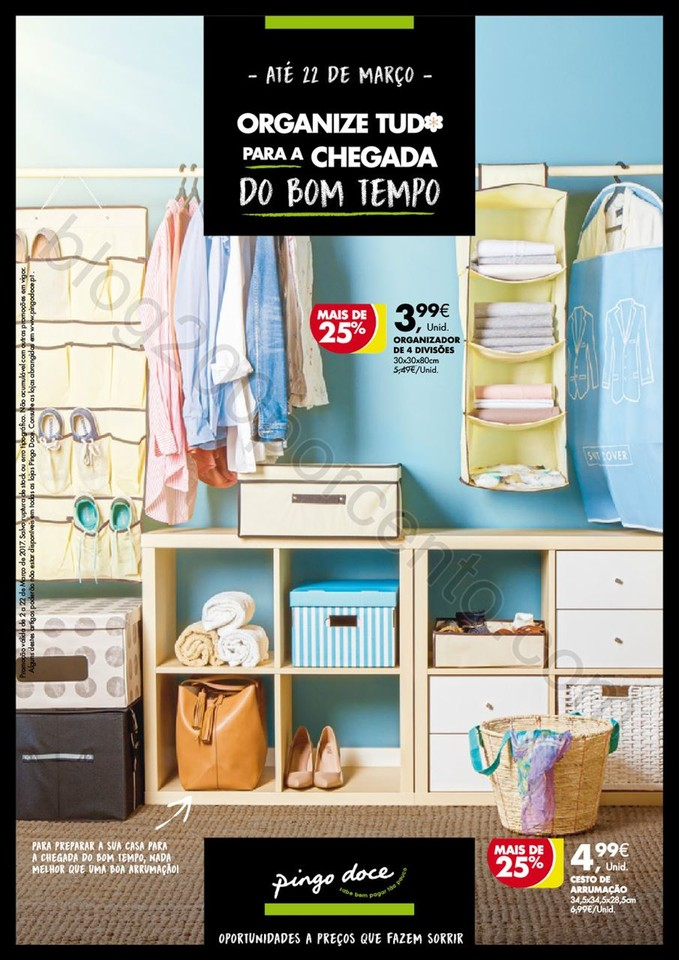Novo Folheto PINGO DOCE Promoções Bazar - Casa a