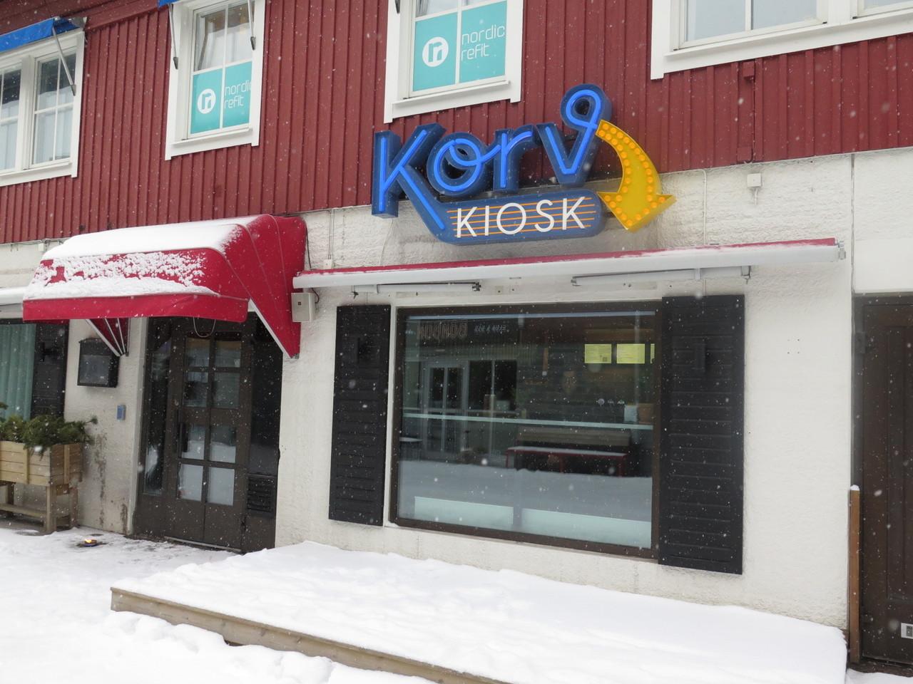 O KORVKIOSK de Magnus Nilsson na estância de ski de Åre