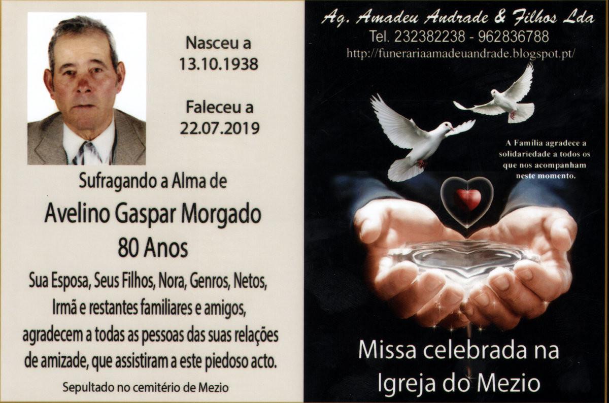 CARTÃO DE AGRADECIMENTO 2 DE AVELINO GASPAR MORGA