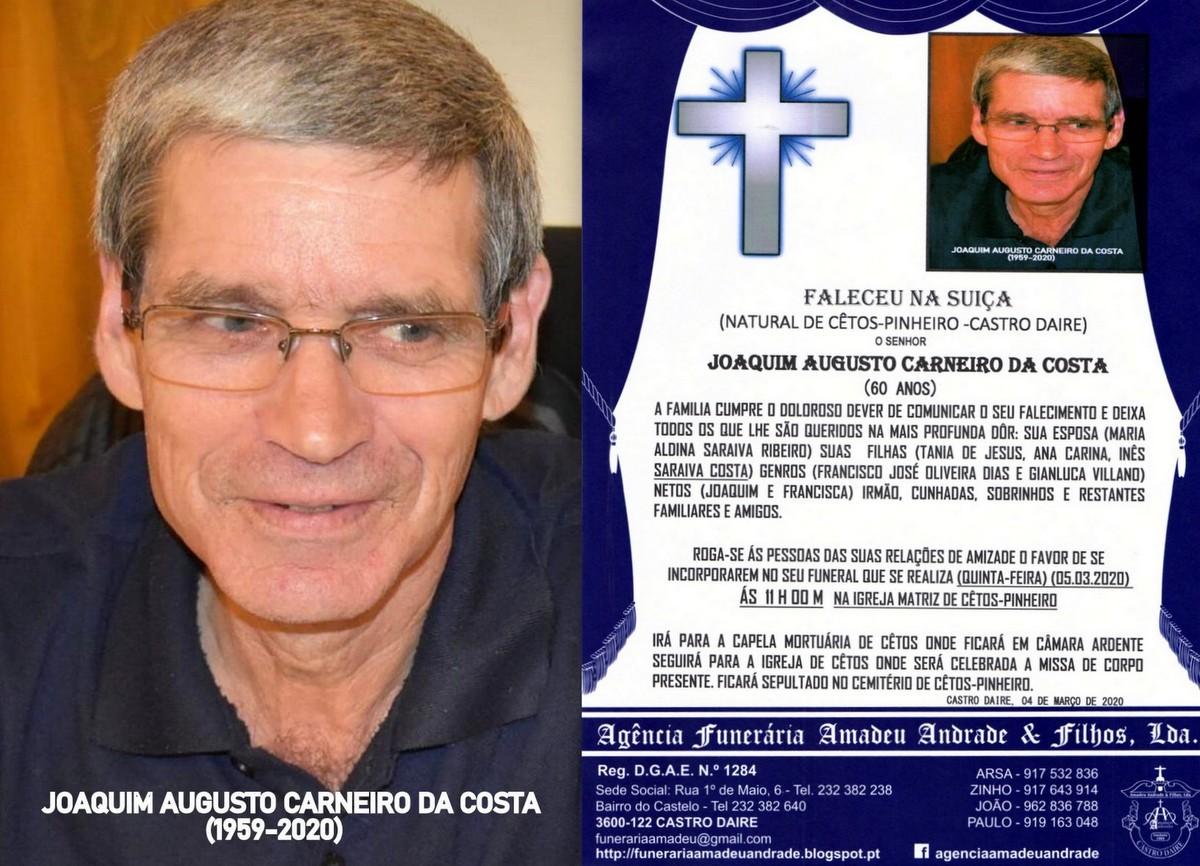 FOTO RIP  DE JOAQUIM AUGUSTO CARNEIRO DA COSTA -CE