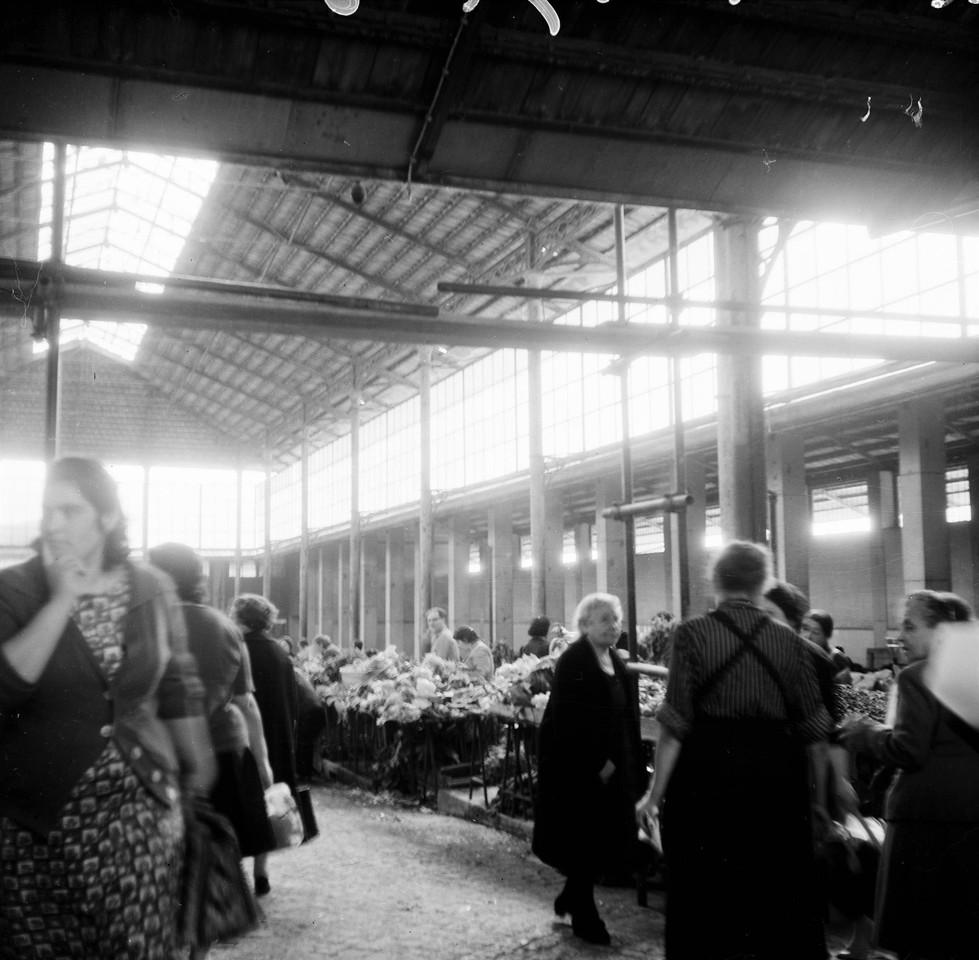 Mercado de Santa Clara, interior, 1967, foto de Va
