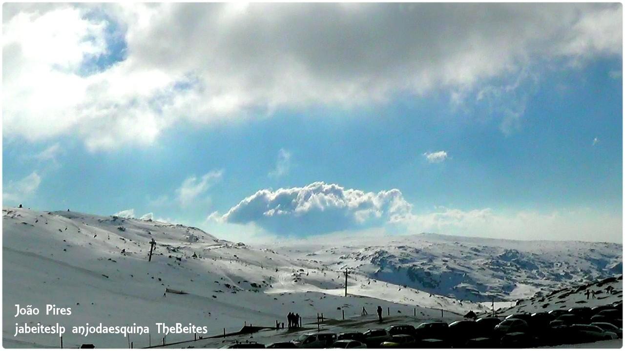 .Estação de Ski da Serra da Estrela a 19-2-2016.