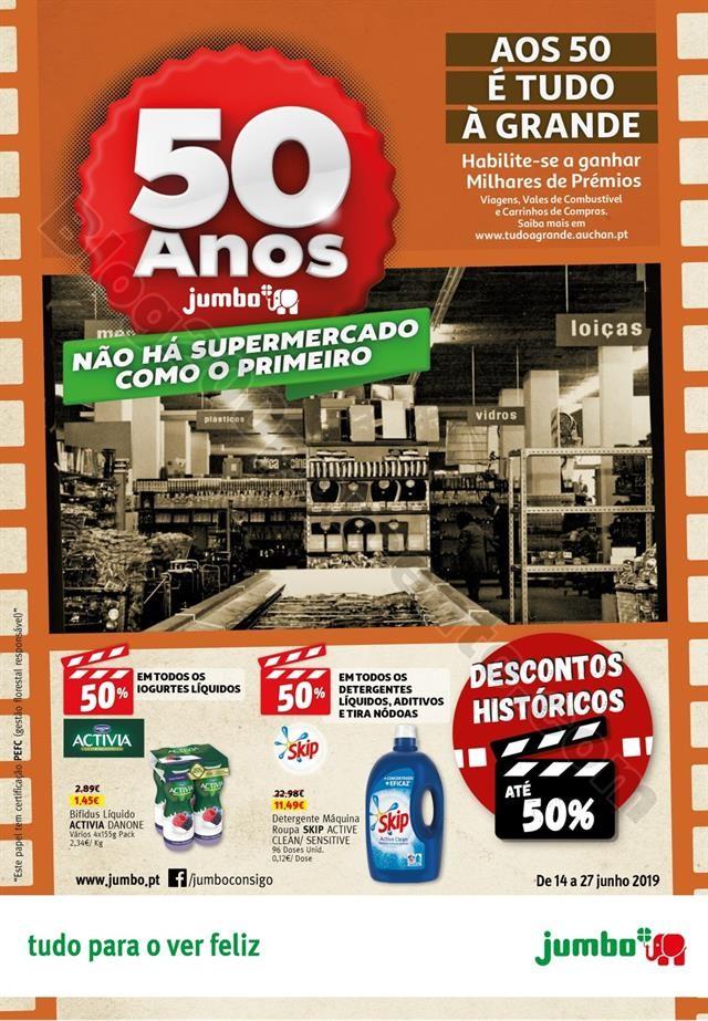 Antevisão Folheto JUMBO Aniversário Promoções