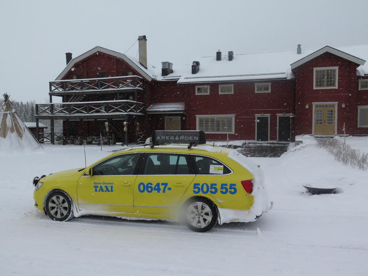 Estava quase a começar aquilo que parecia ser mais uma etapa do Rali da Suécia