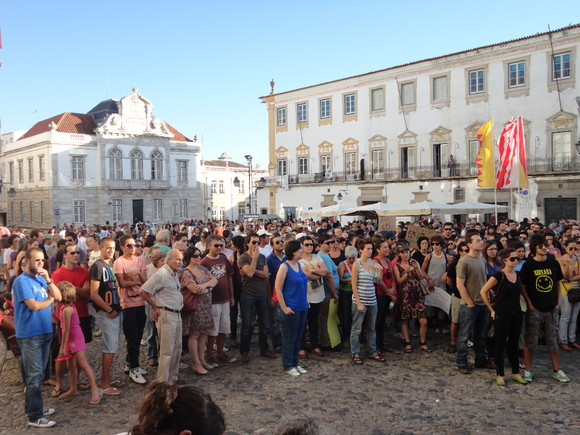 Manifestação 15/9 Praça do Giraldo
