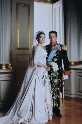 crown prince frederik princess mary denmark weddin