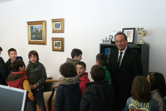 Visita EB Joaquim Pinto