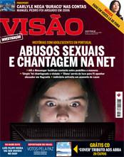 'Abusos sexuais e chantagem na net', tema de capa da revista Visão na edição de 5 de Fevereiro de 2008