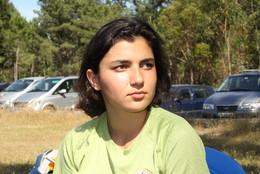 Olga Mendes Campeã Nacional Juniores Recurvo