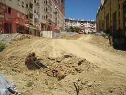 Alameda Pedonal - início de obras II