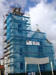 Apoio às obras de restauro e beneficiação da Igreja Paroquial de Boelhe