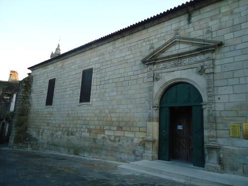 pormenores da entrada lateral, Igreja Matriz