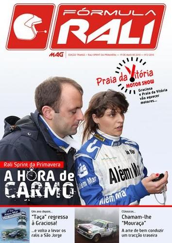 A capa de mais uma e-magazine FORMULA RALI...