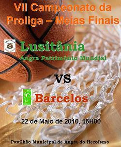 Lusitânia tem amanhã a derradeira hipótese para chegar ao escalão principal do basquetebol português...