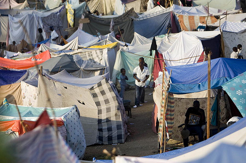 Campo Tendas Haiti