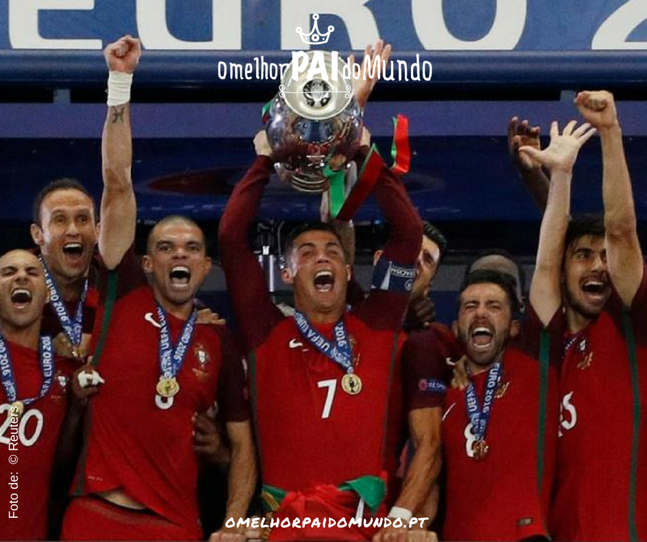 Portugal - Campeão Europeu de Futebol em França