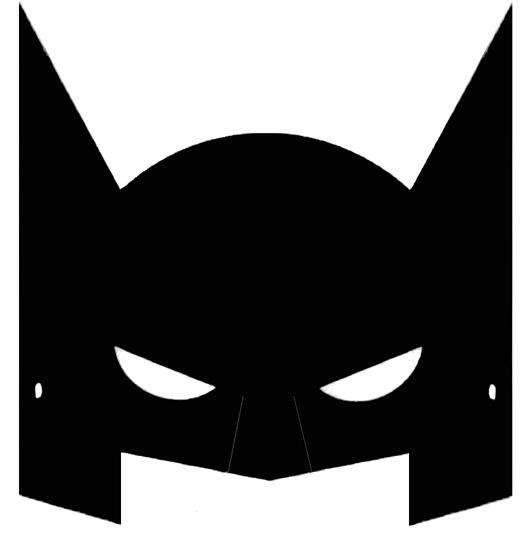 Mascara De Carnaval Do Batman Para Imprimir Mascaras De Papel