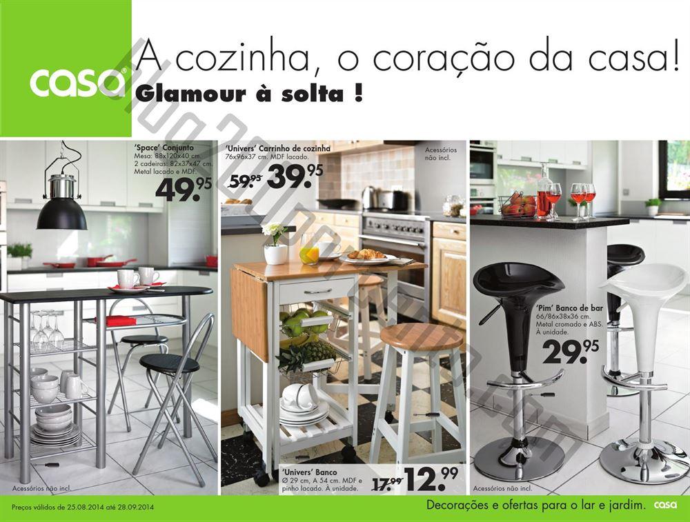 Novo folheto casa promo es de 25 agosto a 28 setembro - Desserte de cuisine casa ...