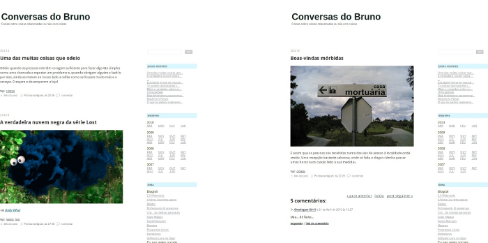 preview do blog