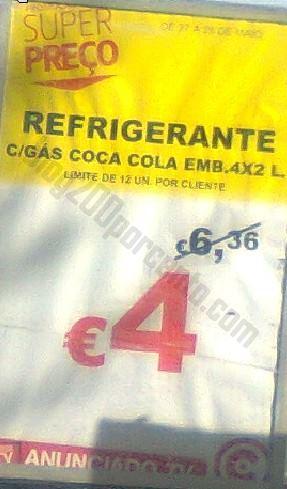 Avistamento CONTINENTE dias 27 e 28 maio - Coca-Cola